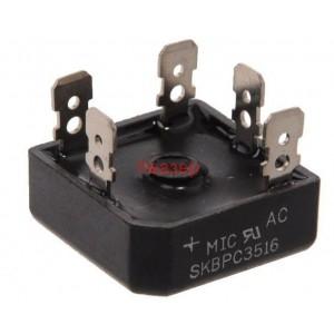 SKBPC3516  трифазен грец 1600V/35А