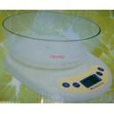 Електронен кухненски кантар с купа / max. 5кг./