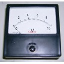Щитови,  панелни аналогови волтметри М42300 0-10VDC