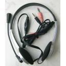 YM-010 Стерео слушалки с микрофон и регулатор на силата на звука