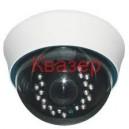 LCDNT20SHD 1/3 CCD КУПОЛНА ЦВЕТНА КАМЕРА 600TV линии IR