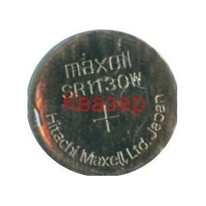 Бутонна батерия сребърна SR1130 SW 189/387/389/390/AG10/LR1131/SR54 1.55V MAXELL