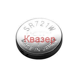 Бутонна батерия сребърна SR721 SW 162/361/362/AG11/SR58 1,55V MAXELL