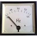 Честотомер 45 - 55 Hz, аналогов панелен 120x120mm