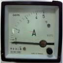 Амперметър  0-5VAC  /1EQ72  аналогов  панелен 72x72mm