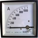 Амперметър  0-1000A DC SCHERING аналогов  панелен  96x96mm