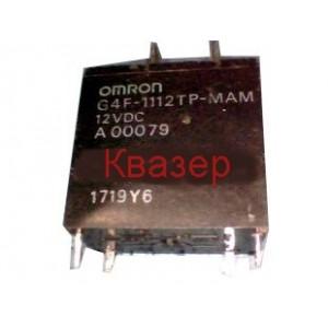 РЕЛЕ OMRON G4F-1112TP-MAM DC12V 20A 250VAC N.O. контакт