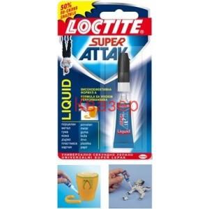 Loctite Super Attak секундно лепило течно 3 грама