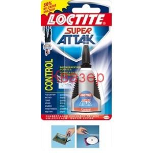Loctite Super Attak Control секундно лепило 3 грама