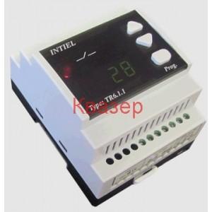Програмируем терморегулатор с релеен изход и аналогови изходи 0-10V тип TR-6.1.1 с Pt1000