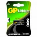 GP литиева фото батерия CR123 3V