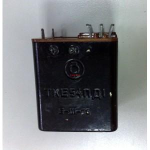 Реле ТКЕ54ПД1 27V DC, 5A, 4 превключващи вериги