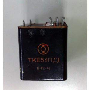 Реле ТКЕ56ПД1 27V DC, 5A, 6 превключващи вериги