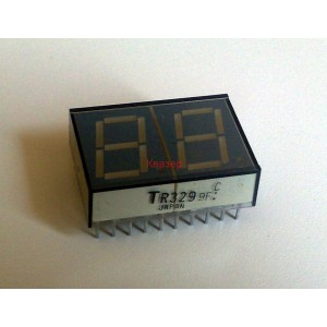 ДВОЙНА 7-СЕГМЕНТНА СВЕТОДИОДНА ИНДИКАЦИЯ TR329 Toshiba