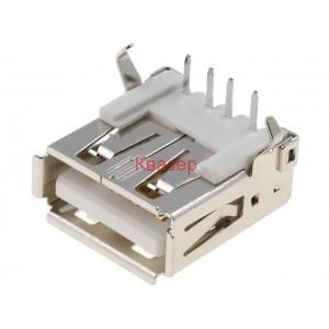 USBA-G Конектор USB A, женски ъглов, THT