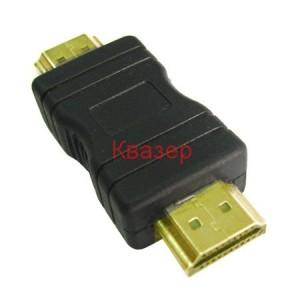 HDMI-HDMI - Адаптер, мъжки-мъжки