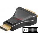 HDMI-DVI - Адаптер DVI-I dual link (24+5) гнездо, HDMI щепсел