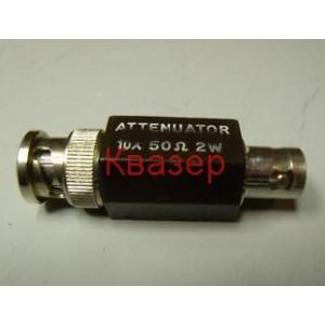 Tektronix 011-0059-02, attenuator 10x 50 ohm 2W