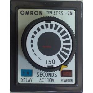 Omron ATSS-7N ON Delay Timer 0-150s 110V