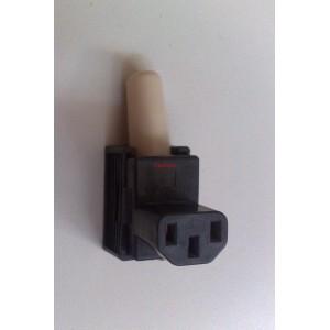 Съединител IEC 60320, захранващ AC, C13 (F), щепсел, женски, 10A