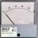 Амперметър 0-100A 120/120mm