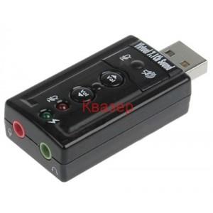 USB външна звукова карта 7.1 Surround