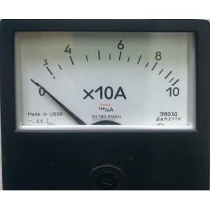 Амперметър 0-100А AC 80/80mm, Э8030