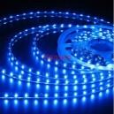 Синя светодиодна лента, smd3528-60LED/m (4.8W/m) водоустойчива IP67