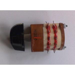 Ротационен галетен превключвател 11П1Н, 11 позиции, 1 секция, 24pin