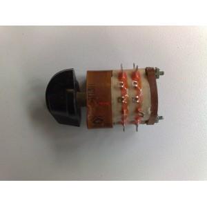 Ротационен галетен превключвател 4П3Н, 4 позиции, 3 секции, 24pin
