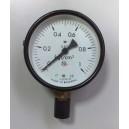 Манометър 0-1 кгс/кв.см. ф100