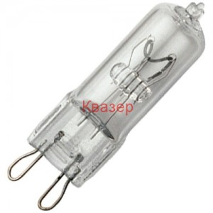 Халогенна лампа HOROZ G9 25W прозрачна 220-240V