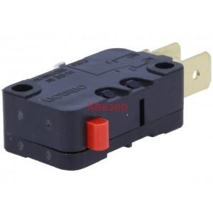 D3V-16-1C5 Микропревключвател OMRON, без лост, SPDT, 16A/250VAC, 10A/30VDC, IP40
