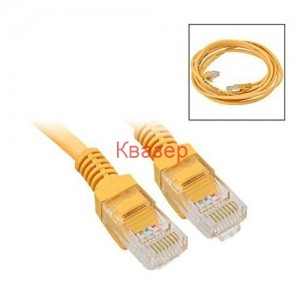 LAN Patch кабел CAT5e UTP 20m RJ45-RJ45, жълт IT-CAB 20PAC