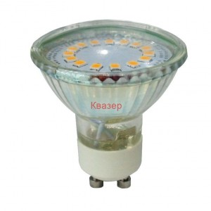 VT-1859 LED лампа GU10 220-240V 3W 200lm 6000K