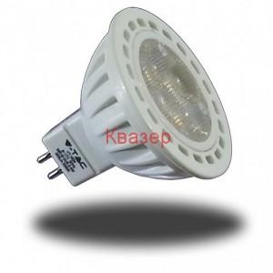VT-1834 LED лампа GU5.3 12V 4*1W 300lm 6000K 38°