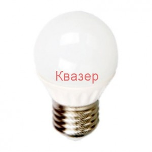 VT-1830  LED ЛАМПА топче 4W E27 G45 4500K 320 lm