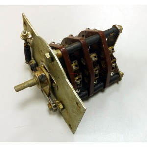 Ротационен галетен превключвател, 2 позиции, 5 секции