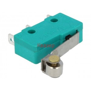 WLK-4MINI Микропревключвател, с лост (с ролка), SPDT, 5A/250VAC, ON-(ON)