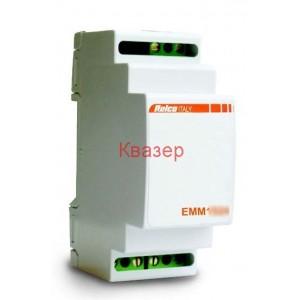 Relco EMM1012 трансформатор на DIN шина 230V/12V AC, Pin 10VA, Pn 6.5VA, DIN шина
