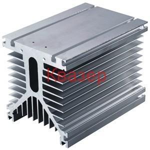130х125х135mm Масивен Y тип радиатор за охлаждане на мощни SSR