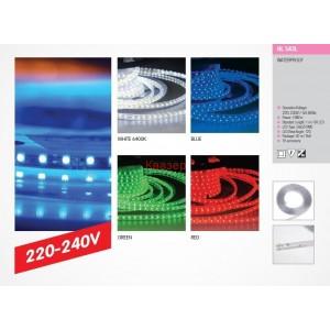 081-004-0001 LED ЛЕНТА 50х50 60LED 10W/M IP65 СИНЯ (HL543L)