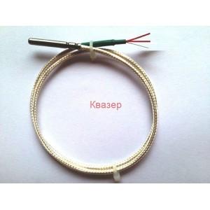 Pt100 ф4x50+2mPTFEкабел термо датчик сензор 250°С