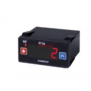 RT38 серия 48x24mm температурен контролер 12-24V Pt100 и други RTD сензори