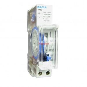 TR62 0-24h 230V таймер на DIN шина