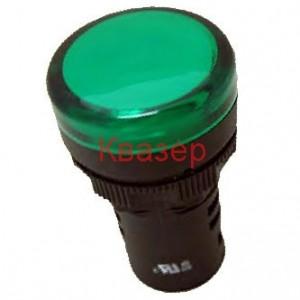 ND16-22CS/4 AC 220V индикатор зелен