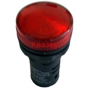 ND16-22CS/4 AC 220V индикатор червен