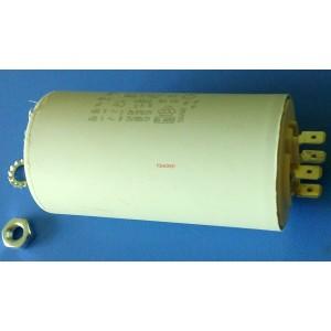 2D 2uF 470V работен кондензатор тип MKP с изводни пера