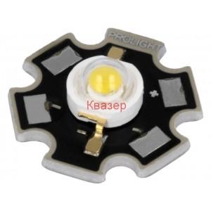 Мощен светодиод PM2B-3LWS-SD 3W 5000-5650K студено бял 218.9-284.5lm 130°