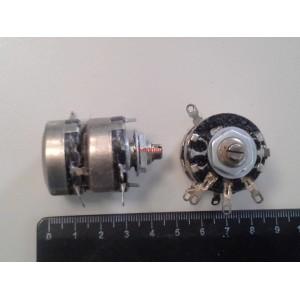 Потенциометър 2x10K стерео СП-III А-0,5ВТ